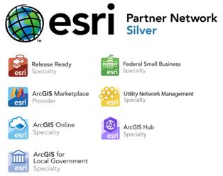 Esri Silver Partner and designations