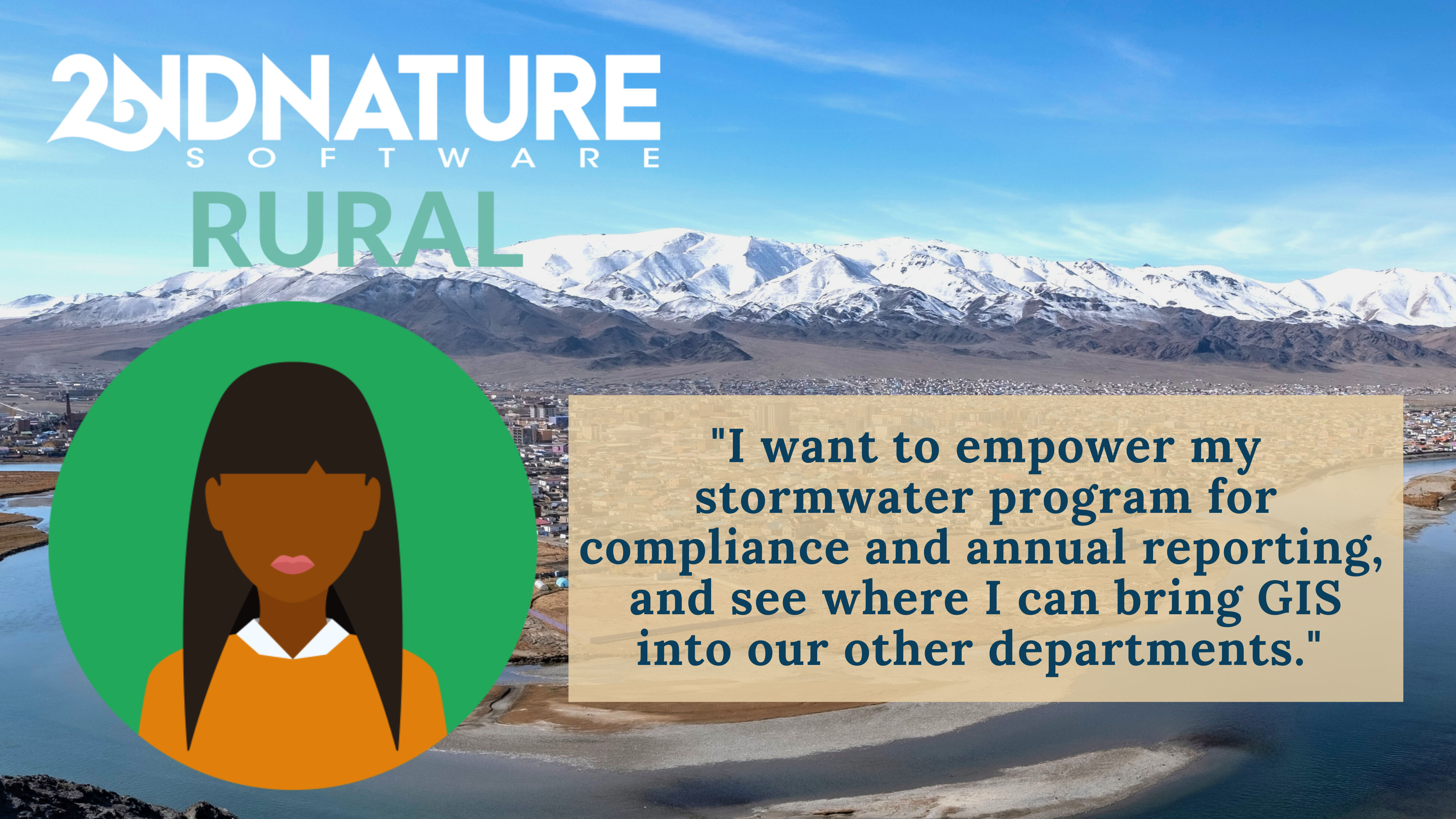 2NDNATURE RURAL Stormwater Management and Compliance Software