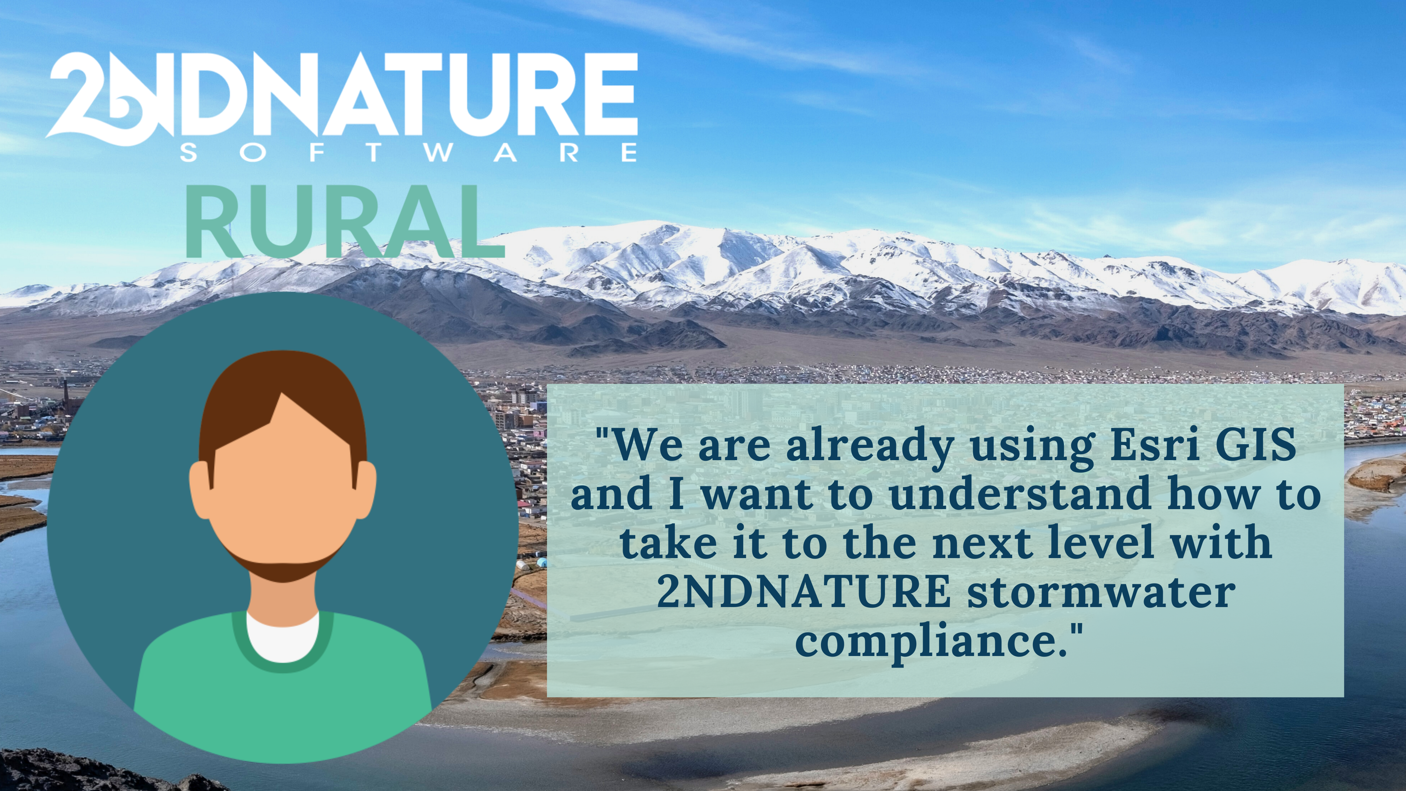 2NDNATURE RURAL Stormwater Solution for Small MS4 Cities and Municipalities